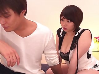 Japanese gal, Miu Yuuki is getting her coochie ate and crammed up with a stiff boner