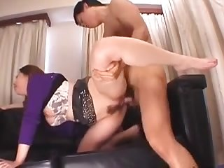 Chinese Floozie With Wooly Puss Gets Group-Smashed