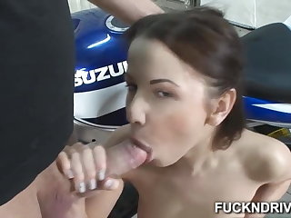 Girl that loves anal get a dick in her tight ass hole